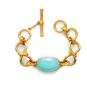 NWT Authentic Julie Vos Chalcedony bracelet